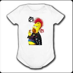 Body blanco Homer Punk