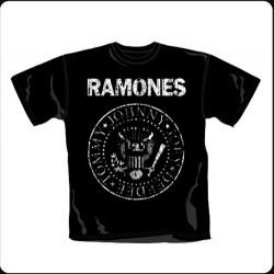 Camiseta Ramones hombre logo
