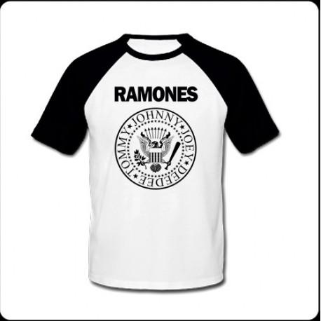 Camiseta hombre Ramones negra