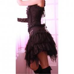 Falda Punk-Gothic negra