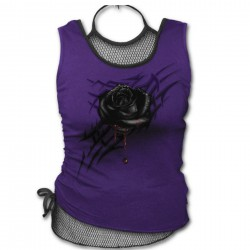 Top Black Rose